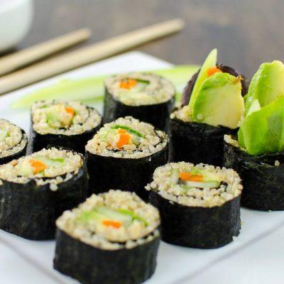 sushi kookworkshop vegan church